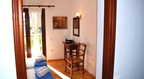 Greece Sivota Thesprotias Villa Dina Bedroom with 2 single Beds