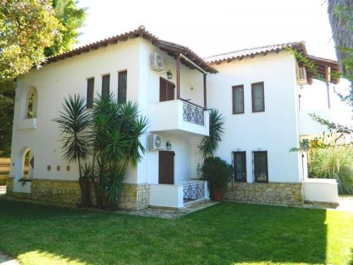 Greece Sivota Thesprotias Villa Dina Bedroom with 2 single Beds Villa Dina Out