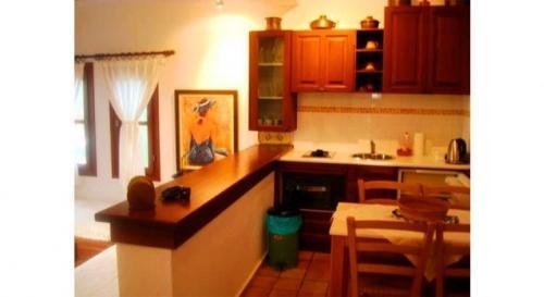 Greece Sivota Thesprotias Villa Dina Kitchen + Bin