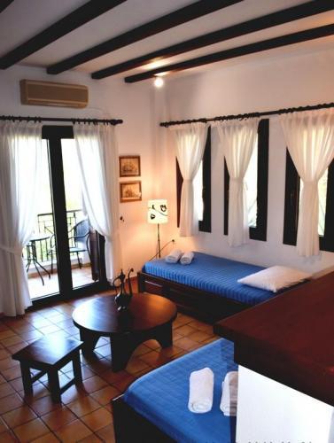Greece Sivota Thesprotias Villa Dina Living Room (5)